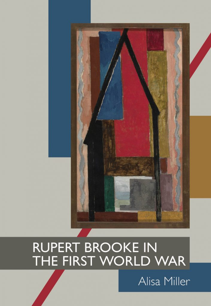 Rupert Brooke in the First World War book jacket